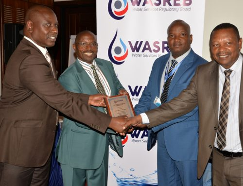 Kenya's Water services Sector 2015/2016 and 2016/2017 (Nyewasco has been rated as the Kenya's best performing water company for 10 years in row)