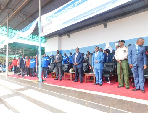 Official opening of Wasco games 2019