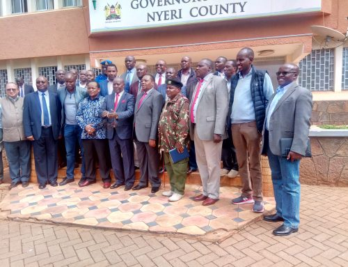 Sewer Connections in Nyeri Rise from 25% to 30%  through the OBA Project