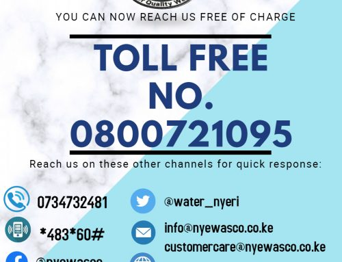 NYEWASCO TOLL FREE NUMBER