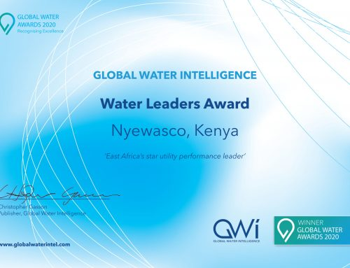 Water Leaders Award 2020: NYEWASCO Bags the Number One Position