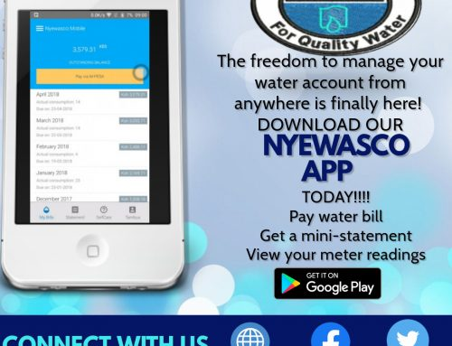 Freedom to Manage your Water Account is Here!